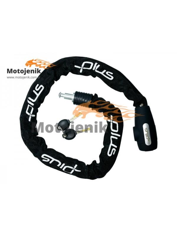 Zincirli Kilit Plus Anahtarlı 6x900 mm
